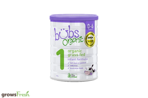 Bubs Organic - Grass Fed Cow Infant Formula Stage 1 - Australian