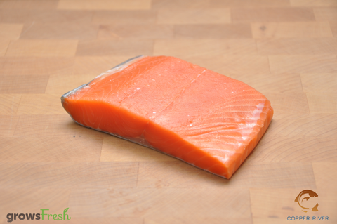 Copper River - Wild Alaska - Coho Salmon - Portions - Frozen