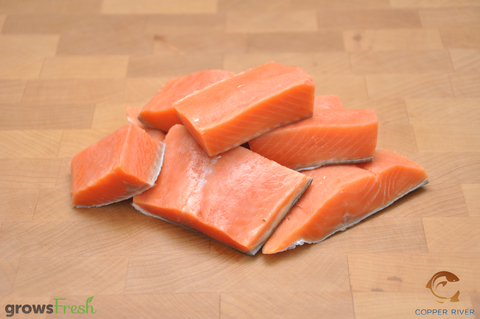 Copper River - Wild Alaska - Coho Salmon - Kids Steaks - Frozen - 300g
