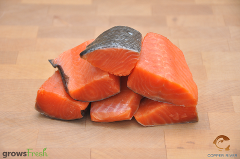 Copper River - Wild Alaska - Sockeye Salmon - Kids Steaks - Frozen - 300g