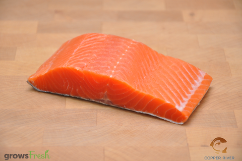 Copper River - Wild Alaska - Sockeye Salmon - Portions - Frozen