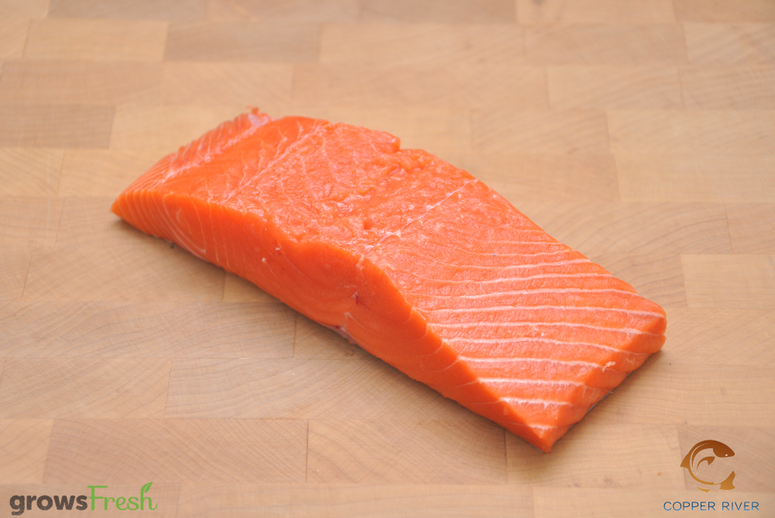 Copper River - Wild Alaska - King Salmon - Portions - Frozen
