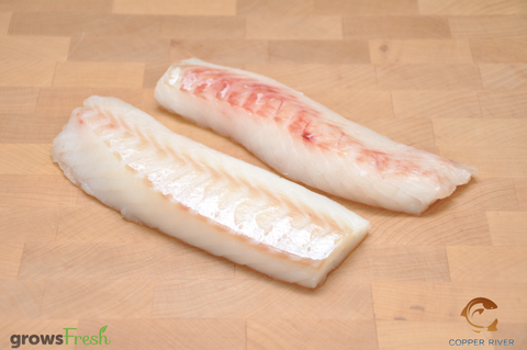 Wild Alaska - Pacific Cod - Portions - Frozen