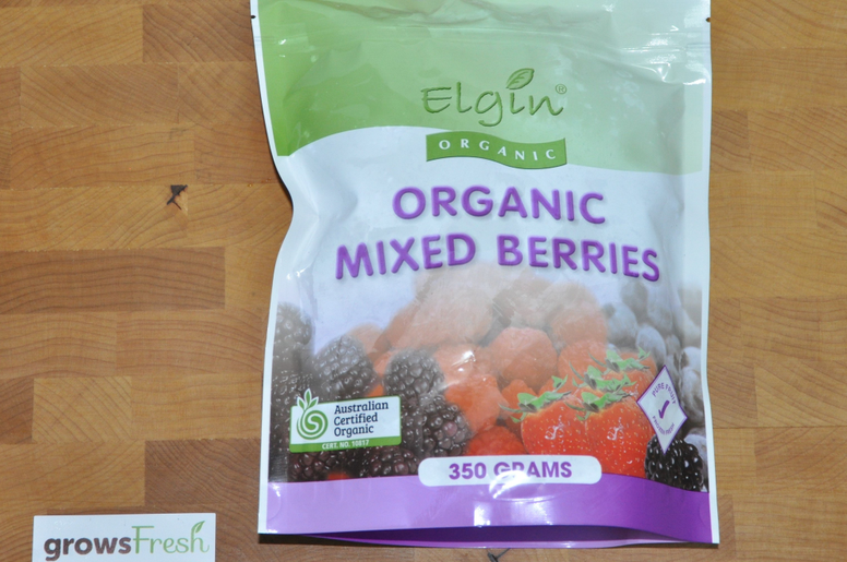 Elgin Organic Mixed Berries - Fruit - Frozen - 350g