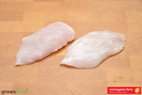 enviroganic farms - Organic Free Range Chicken - Breast Kids Steaks - Australian