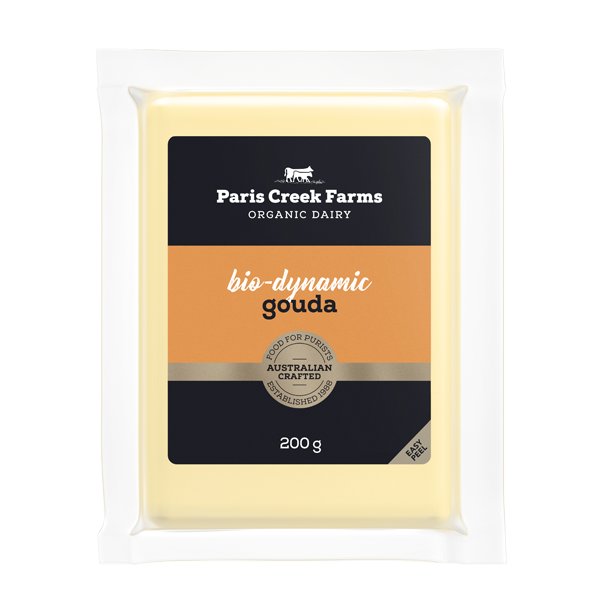 Paris Creek Farms - Bio-dynamic Gouda Cheese - Australian