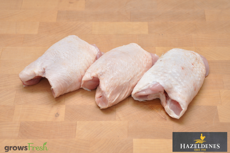 Hazeldene's Free Range Chicken - Fresh Skin On Thigh Fillets - Australian
