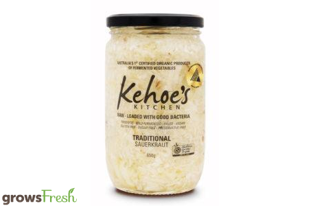 Kehoe's Kitchen - Organic Sauerkraut - Traditional