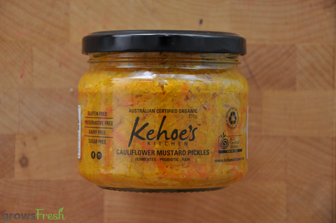 Kehoe's Kitchen - Organic Cauliflower Mustard Pickles - 250g - Australia