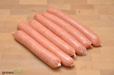 growsFresh - Beef - Sausages - Plain - Grass Fed Beef