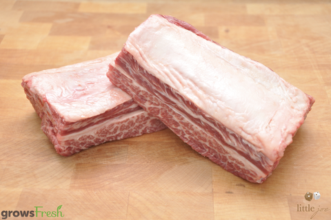 Little Joe Beef - Grass Fed MB4+ Short Ribs - Australian - Frozen
