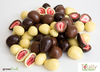 White Chocolate Covered Freeze Dried Strawberries - Australian