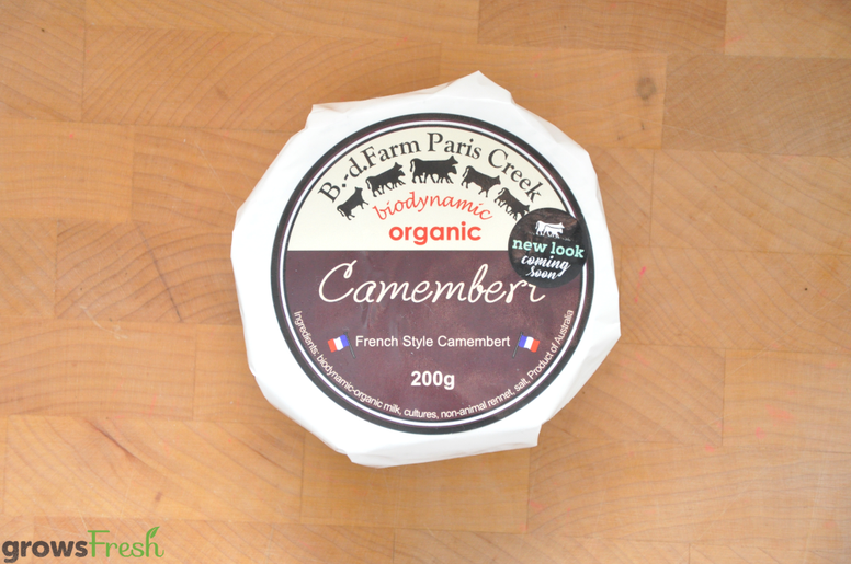 Camembert - French Style Soft Cheese - Biodynamic Organic