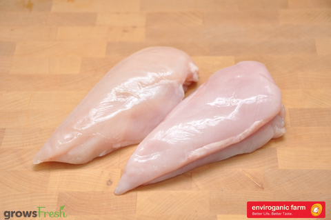 enviroganic farms - Organic Free Range Chicken - Fresh Breast - Australian