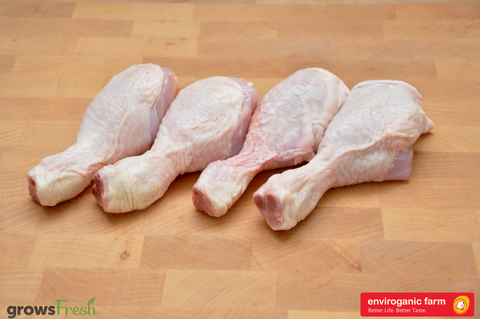 enviroganic farms - Organic Free Range Chicken - Fresh Drumsticks - Australian