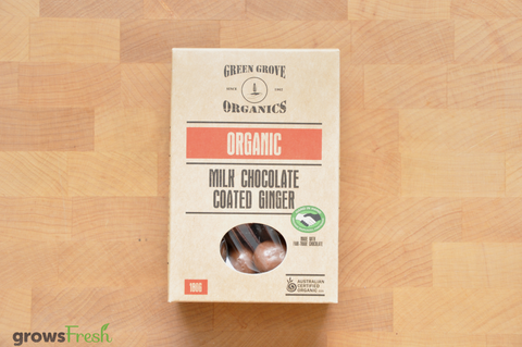 Organic Milk Chocolate Ginger - Australia