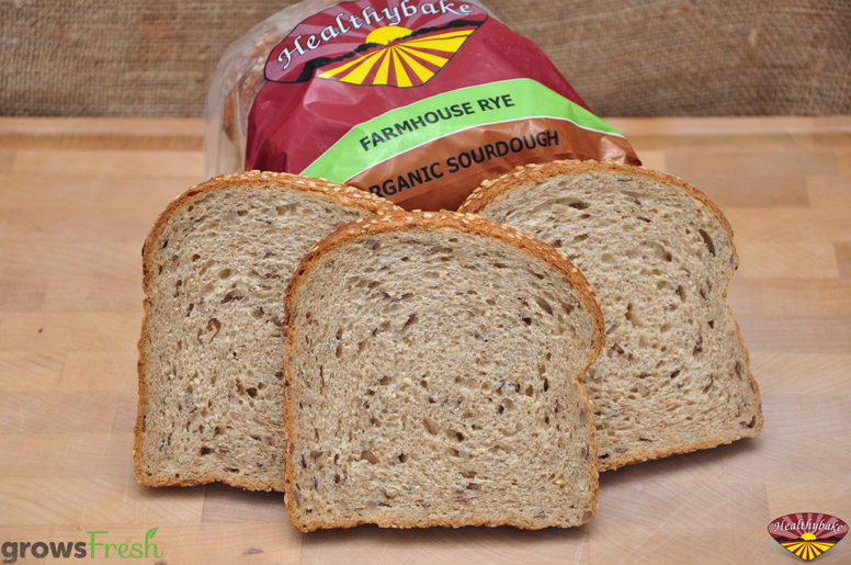 Healthybake Organic Farmhouse (Rye & Seeds) - 600g - Fresh