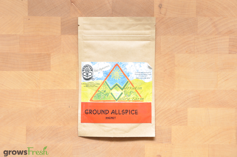 Organic Allspice Ground - Australian
