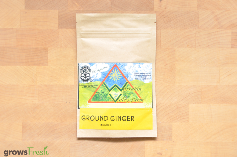 Organic Ginger - Ground Powder - Australia