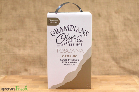 Grampians Extra Virgin Olive Oil - Organic - Cold Pressed - Australian