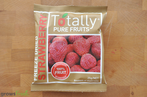 Organic Strawberries - Freeze Dried Snacks - Australia