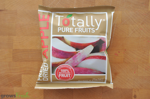 Organic Apple Slices - Freeze Dried Snacks - Australian