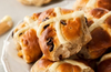 Healthybake - Hot Cross Buns - Cranberry & White Chocolate Chip - Organic Sourdough - Australian