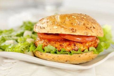 Hazeldene's Free Range Chicken - Fresh Seasoned Chicken Burger - Australian