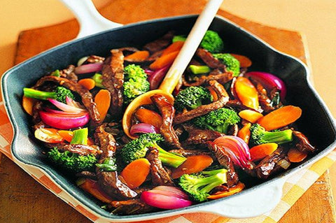 Cherry Tree - Organic Beef - Fresh Stir Fry Rump Strips - Grass Fed - Australian