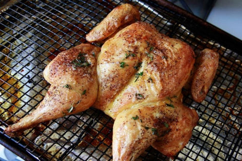 enviroganic farms - Organic Free Range Chicken - Whole Chicken Butterflied - Frozen - Australian