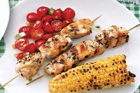 Organic Free Range Chicken Breast Kebab - 400g - enviroganic farms