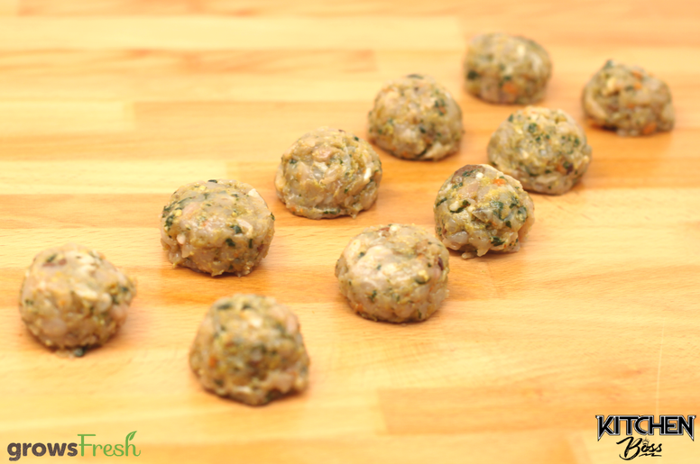 gF Kitchen Boss - Sicilian-Inspired Chicken Meatballs - Frozen - Australian