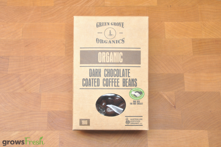 Organic Dark Chocolate Coffee Beans - Australian