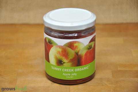Organic Apple Jelly - 310g - Australian