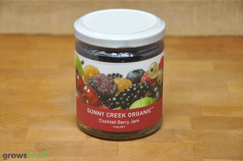 Organic Cocktail Berry Jam - 310g - Australian