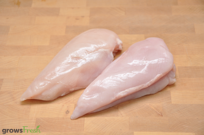 growsFresh - Chicken - Organic Free Range - Breast - Skinless - Fresh