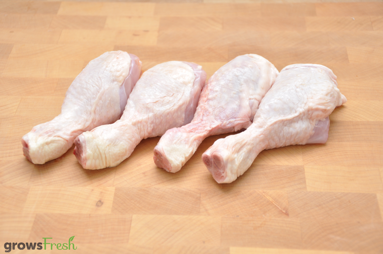 growsFresh - Chicken - Organic Free Range - Drumsticks - Frozen