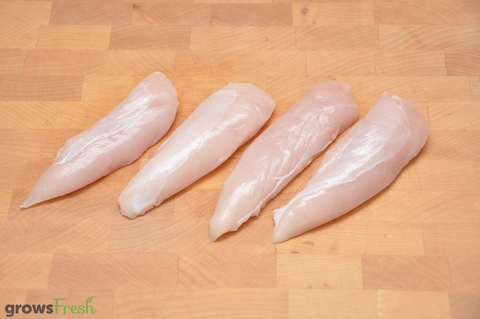 growsFresh - Chicken - Organic Free Range - Tenderloins