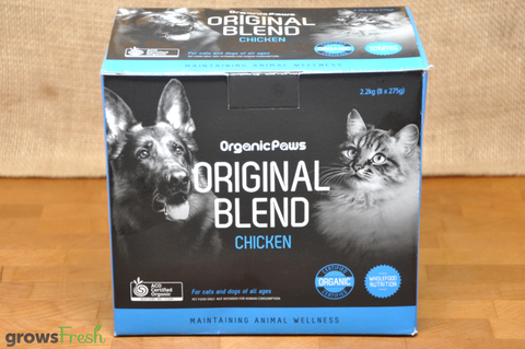 Organic Paws - Original Blend - Chicken - Frozen - Australian