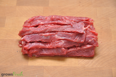growsFresh - Beef - Premium Strips - Grass Fed - Australian