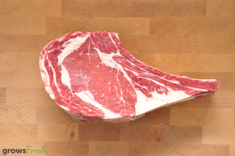 growsFresh - Beef - Rib Eye On The Bone - Grass Fed - Australian