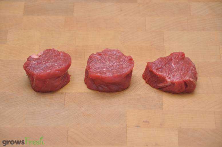 growsFresh - Beef - Tenderloin Tails - Kids Steaks - Grass Fed - Australian