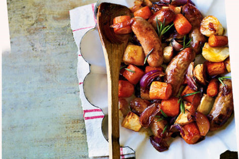 Great Southern Lamb - Fresh Sausages - Honey Mint Rosemary - Small size - 500g