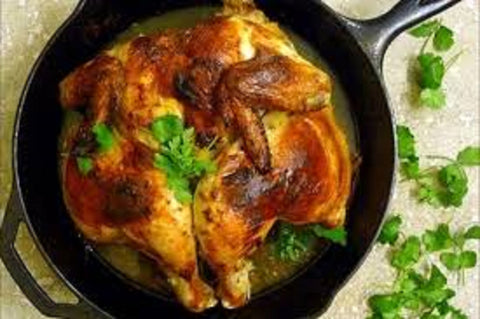 Hazeldene's Free Range Chicken - Butterflied Whole Chicken - Frozen - Australian
