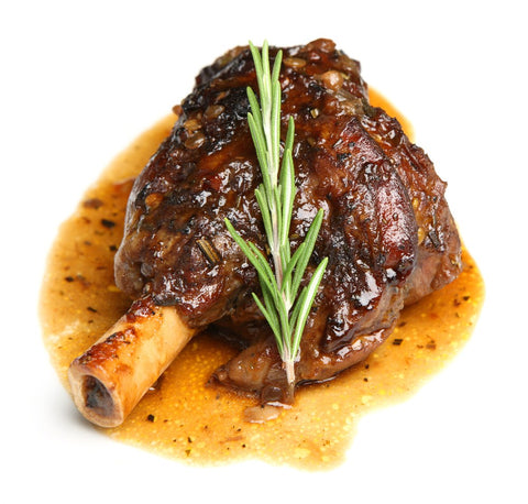 Great Southern Lamb - Shank (Hindshank) Bone In - Grass Fed - Frozen - Australian