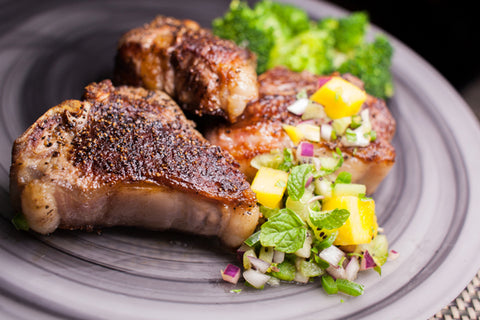 Great Southern Lamb Loin Chops - Chilled - Approx 500g