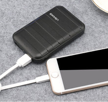 USAMS US-CD06 10000mAh Power Bank Trunk Series Dual USB Power Bank