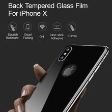 USAMS US-BH375 iPhoneX 3D Tempered Glass Back Protector 0.33mm