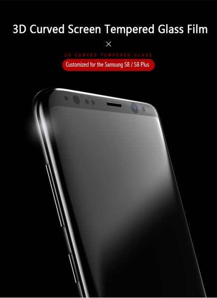 USAMS Samsung Galaxy S8 / S8 Plus Curved Tempered Glass