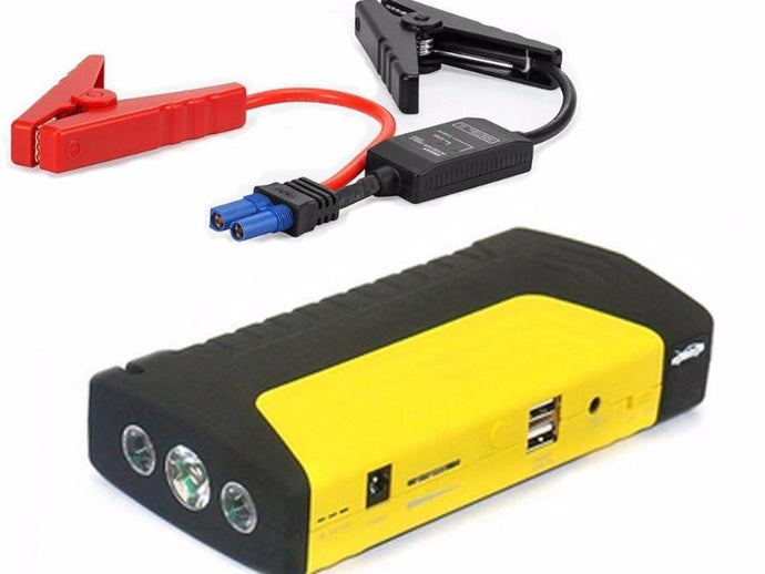 AGA A10 Red/Black 500A Peak 13600mAh Portable Power Bank and Car Jump Starter
